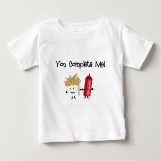 Ketchup and Fries! Baby T-Shirt