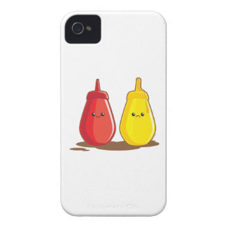 Ketchup and Mustard iPhone 4 Case