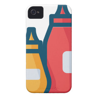 Ketchup and Mustard iPhone 4 Cover