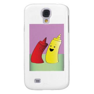 Ketchup and Mustard Samsung Galaxy S4 Case
