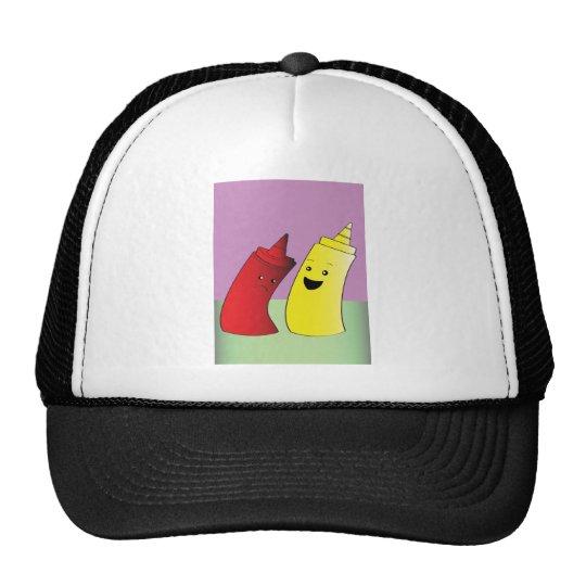 Ketchup and Mustard Trucker Hat