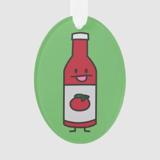 Ketchup Bottle Tomato Sauce Table condiment fancy Ornament