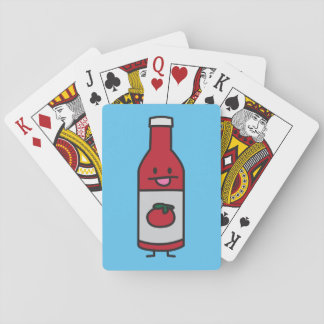 Ketchup Bottle Tomato Sauce Table condiment fancy Playing Cards