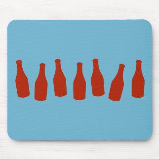 Ketchup Bottles Mouse Pad
