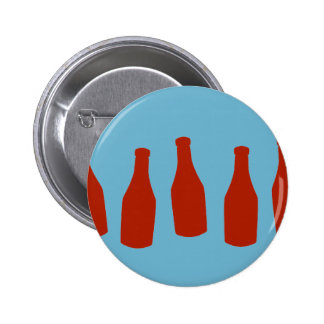 Ketchup Bottles Pinback Button