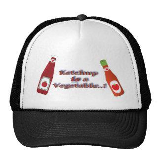 Ketchup Catsup Vegetable Bottle Joke Trucker Hat