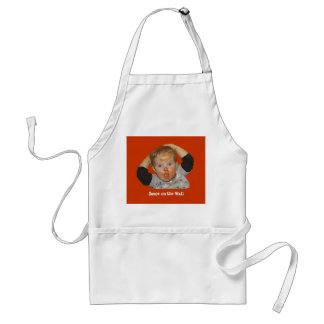 Ketchup Emm on aprom Adult Apron