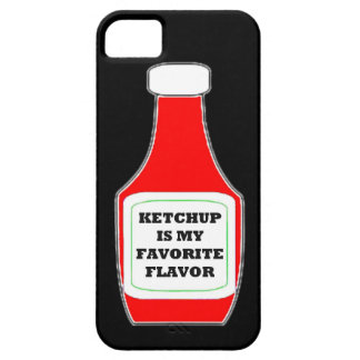 Ketchup is my favorite flavor funny humor keep cal iPhone 5 covers