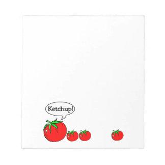 Ketchup Joke Notepad