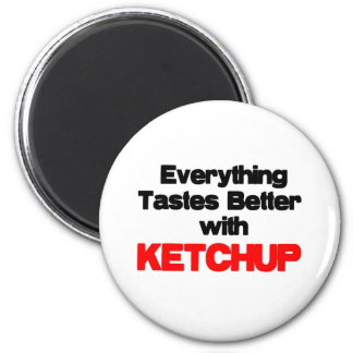 KETCHUP LOVER 2 INCH ROUND MAGNET