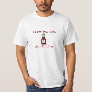 KETCHUP LOVERS T-SHIRT FUNNY SPUNKY