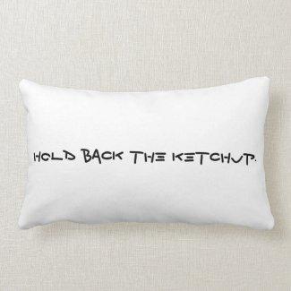'Ketchup' Lumbar Pillow