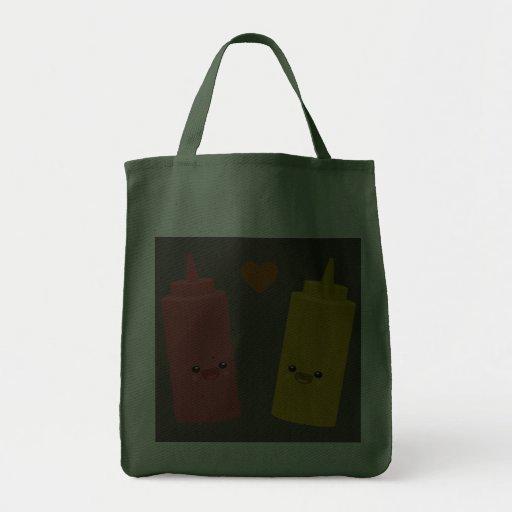 Ketchup & Mustard Friends Canvas Bag