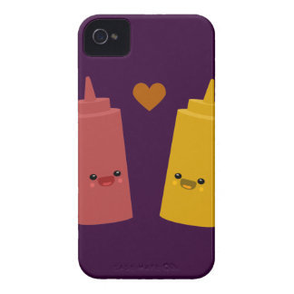 Ketchup & Mustard Friends Case-Mate iPhone 4 Cases