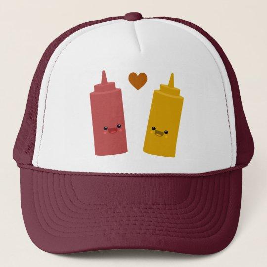 Ketchup & Mustard Friends Trucker Hat