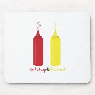 Ketchup & Mustard Mouse Pad