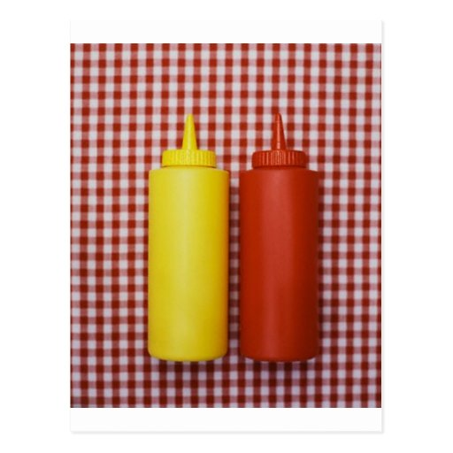 Ketchup & Mustard Post Cards