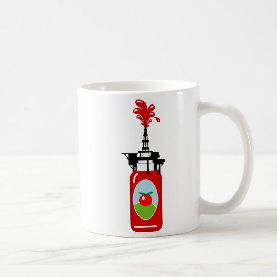 Ketchup Oil Rig Coffee Mug