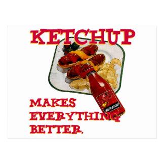 Ketchup Postcard