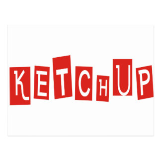 Ketchup Products & Designs! Postcard