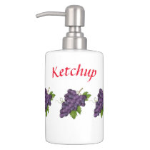 ketchup soap dispenser