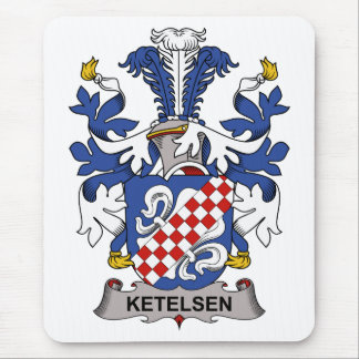 Ketelsen Family Crest Mouse Pads
