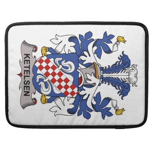 Ketelsen Family Crest Sleeve For MacBook Pro