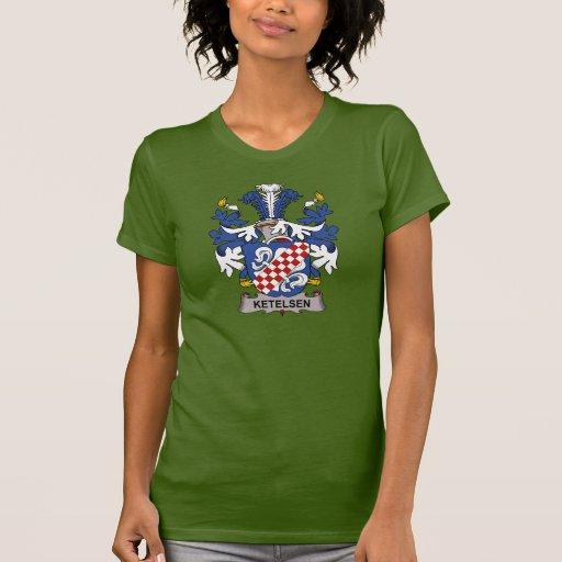 Ketelsen Family Crest T Shirts