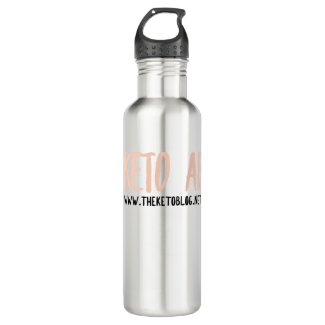 KETO AF Water Tumbler Stainless Steel Water Bottle