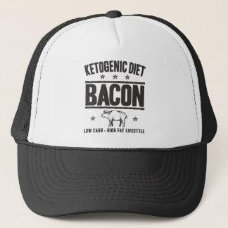 KETOGENIC DIET: Bacon - LCHF Lifestyle, Camo Pig Trucker Hat
