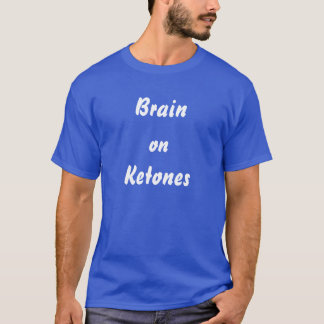 "Ketogenic Diet ""Brain on Ketones"" T-Shirt"