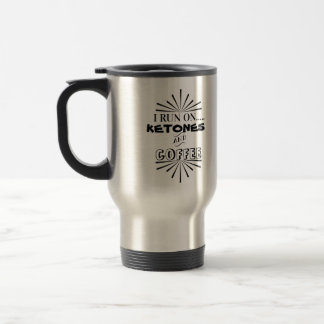 Ketogenic Diet Humor Travel Mug