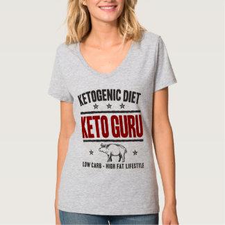 KETOGENIC DIET: Keto Guru - Low Carb Life, Red Pig T-Shirt