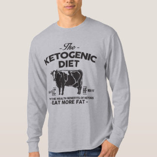 KETOGENIC DIET: Ketosis Health Benefits, Onyx Cow T-Shirt