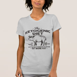 KETOGENIC DIET: Ketosis Health Benefits, Onyx Pig T-Shirt