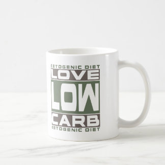 KETOGENIC DIET: Love Low Carb! Get Into Ketosis! Coffee Mug