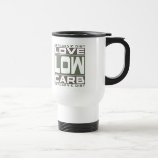 KETOGENIC DIET: Love Low Carb! Get Into Ketosis! Travel Mug