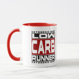 KETOGENIC DIET: Low Carb Runner - Keto For Health! Mug