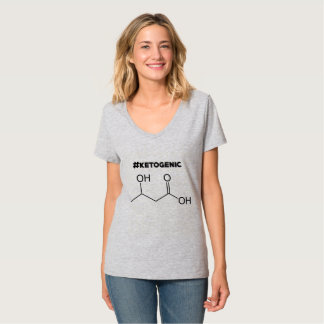 #Ketogenic with Ketone Molecule T-Shirt