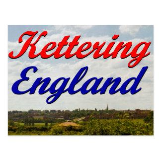 Kettering Inglaterra Tarjeta Postal