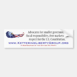 Kettering Liberty Group Bumper Sticker
