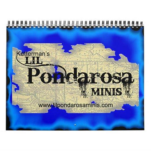 Ketterman's Lil Pondarosa Mini calendar