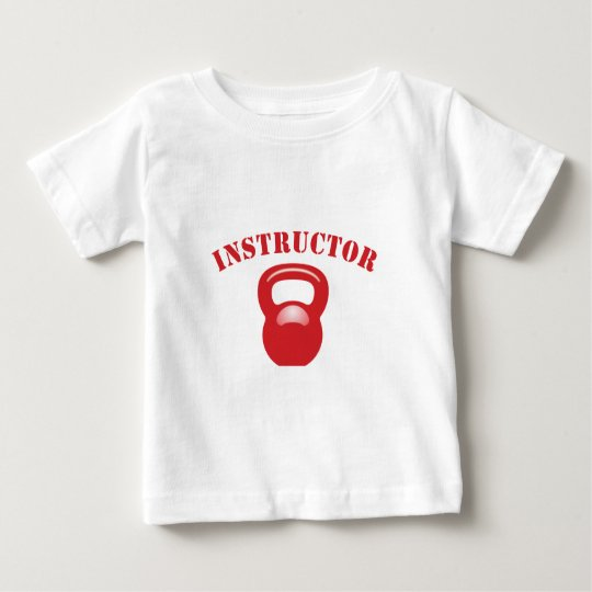 Kettlbell Instructor Red Baby T-Shirt