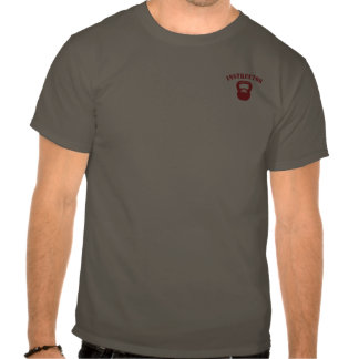 Kettlbell Instructor Red T-shirts