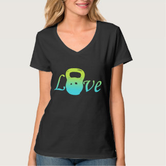 kettle bell love tee shirt