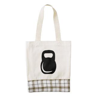 Kettle Bell Zazzle HEART Tote Bag