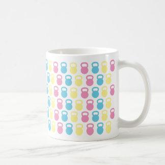 Kettle Bells Classic White Coffee Mug