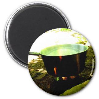 Kettle Burn 2 Inch Round Magnet