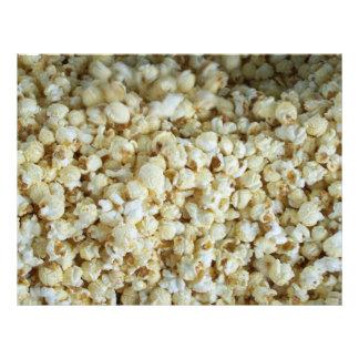 Kettle  Corn Popcorn Scrapbooking Paper Letterhead
