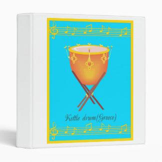 kettle drum 3 ring binder
